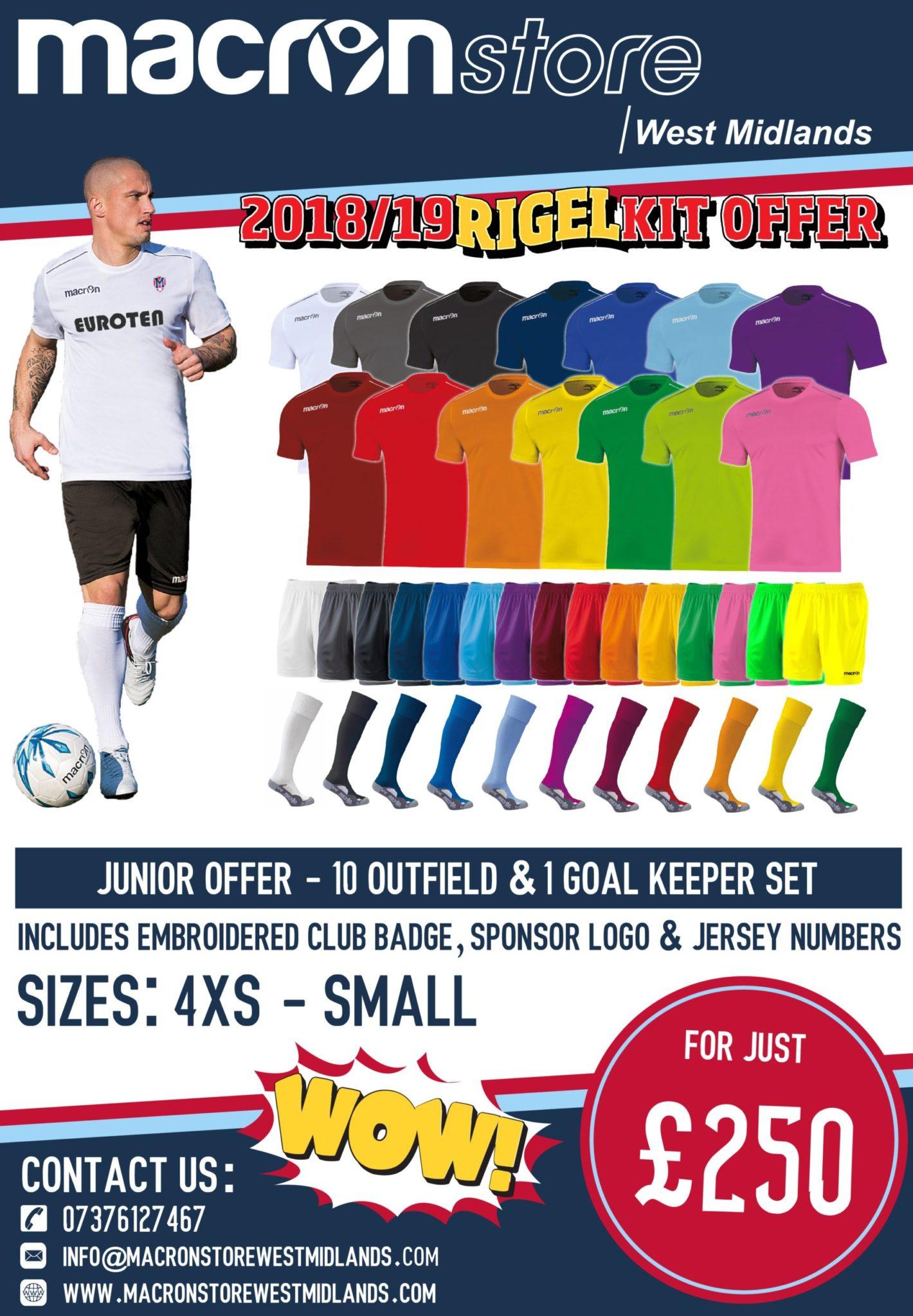 Kit Offer - Juniors