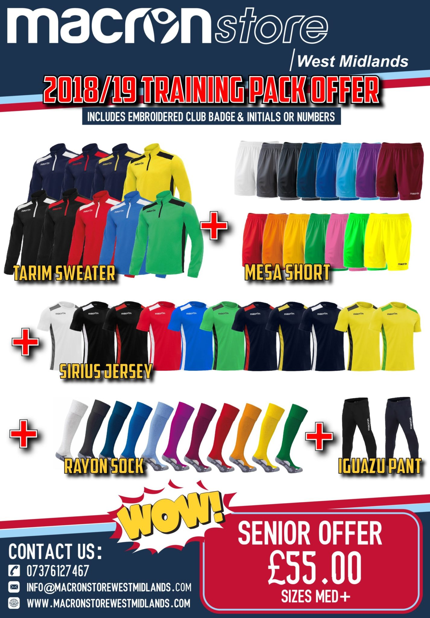 Training Pack Offer - Adults